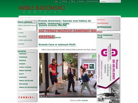 Radomskomeble.pl Krzesła gięte