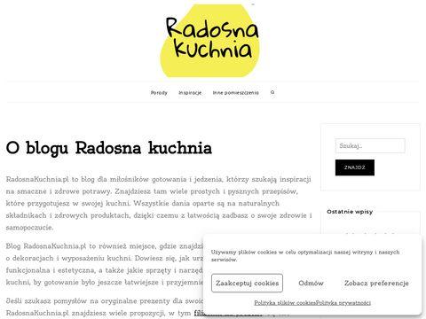 Radosnakuchnia.pl talerz dla niejadka