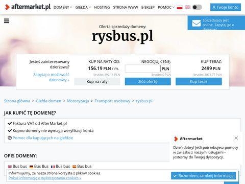 Ryś Bus przewóz osób Polska Niemcy