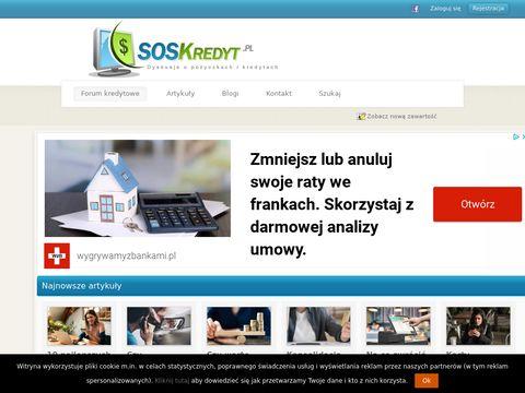 Soskredyt.pl forum kredytowe