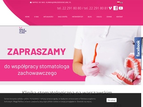 Smiledesignclinic.pl - stomatolog