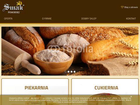 Smakpomorski.com zaopatrzenie piekarnicze sklepów