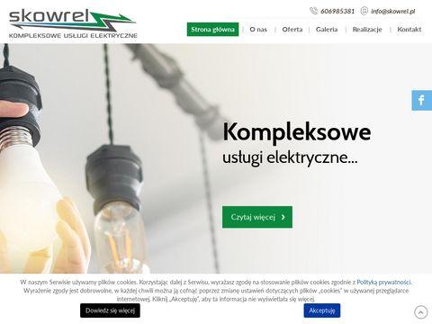 Skowrel - instalacje elektryczne Wrocław