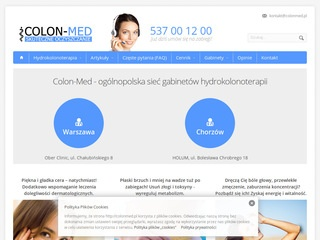 Colon-Med hydrokolonoterapia Żory