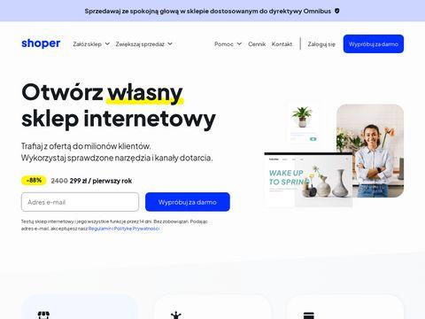 Shoper.pl sklep internetowy
