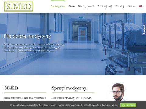 Simed.net.pl łóżka rehabilitacyjne