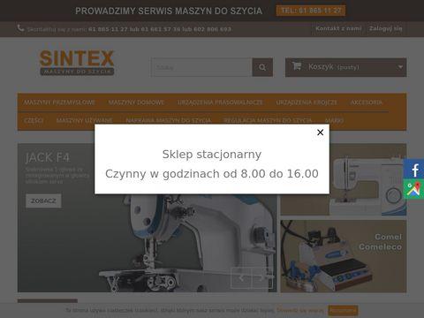 Sintex.pl części do maszyn do szycia