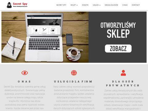 Secretspy.pl detektyw Wrocław