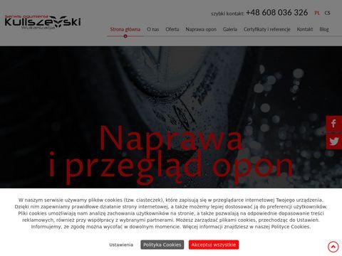 Serwisogumieniaprudnik.pl Kuliszewski naprawa opon
