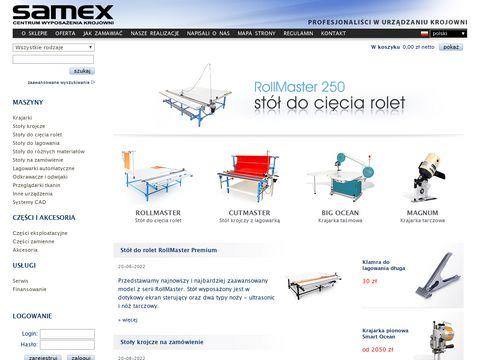 Samex.com.pl - stoły do rolet