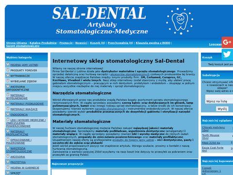 Sal-Dental wiertła dentystyczne Lublin