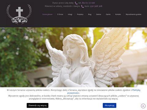 Sacrum odzież dla zmarłych Olsztyn
