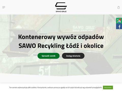 Sawo Recykling usługi koparką