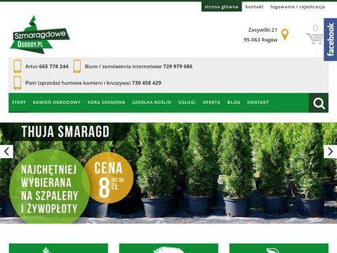 Szmaragdoweogrody.pl centrum ogrodnicze Zacywilki