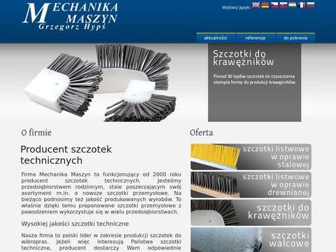 Szczotki.gda.pl - Mechanika Maszyn