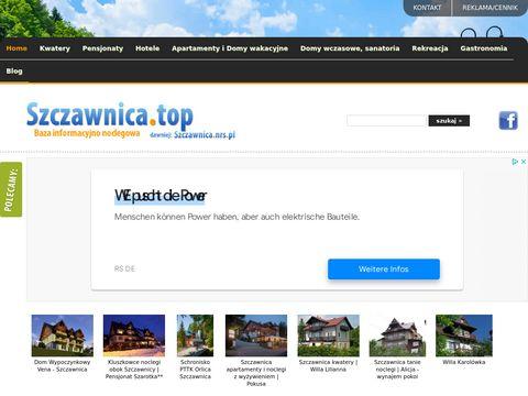 Szczawnica.nrs.pl - hotele