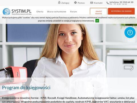 Systim.pl - program do księgowości
