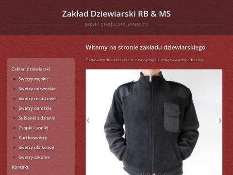 Swetry.biz produkcja swetrów