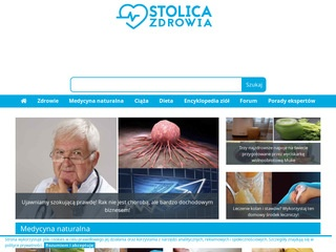 Stolicazdrowia.pl - portal o zdrowiu