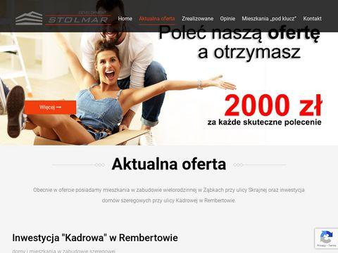 Stolmardevelopment.pl domy szeregowe