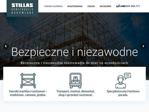 Stillas.pl rusztowania jezdne Szczecin
