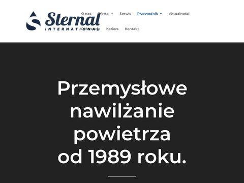 Sternal International redukcja zapylenia