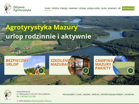 Starejablonki.pl - agroturystyka Mazury