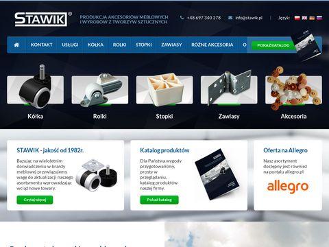Stawik.pl kółka meblowe