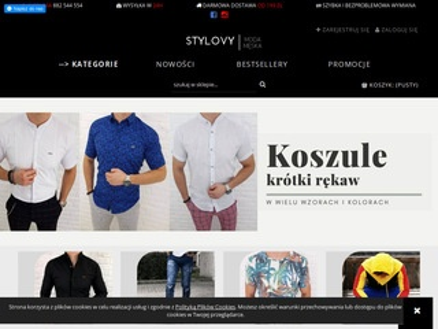 Stylovy.pl moda meska butik internetowy