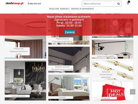 Strefalamp.pl sklep z oświetleniem