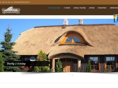 Strzechart - dachy z trzciny
