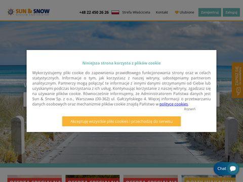 Sunandsnow.pl noclegi