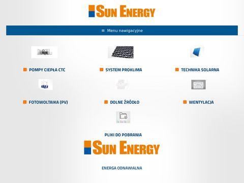 Sun Energy kolektory słoneczne Gdańsk