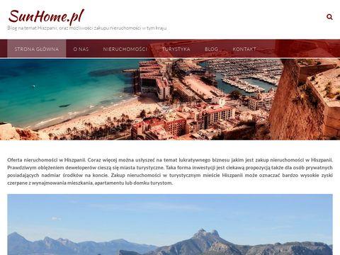 SunHome.pl nieruchomości Hiszpania