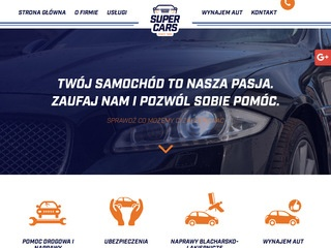 SuperCars holowanie Bydgoszcz