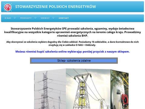 SPE kursy energetyczne Zamość