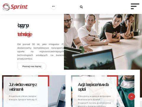 Sprint systemy informatyczne Olsztyn