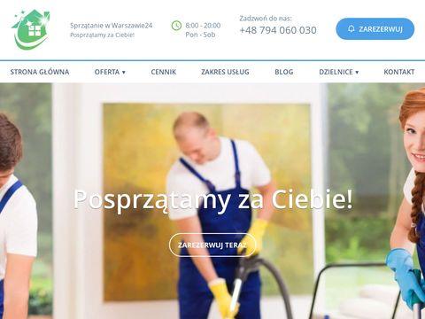 Sprzatanie-w-warszawie24.pl