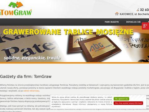 Tomgraw gadżety dla firm Katowice
