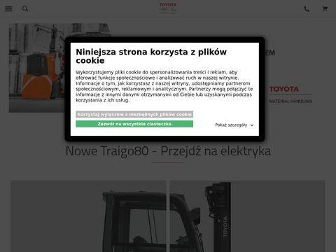 Serwis wózków widłowych toyota-forklifts.pl