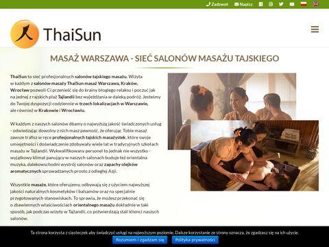 Thaisun - Gabinet masażu Warszawa