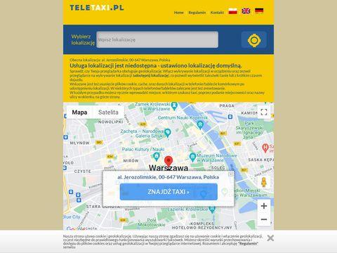 Teletaxi.pl - taksówka Modlin