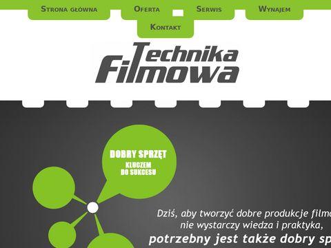 Technika-filmowa.pl kran kamerowy producent