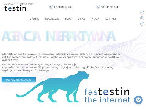 Testin.pl strony www