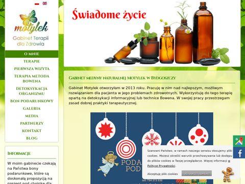 Terapiedlazdrowia.com.pl Motylek technika Bowena
