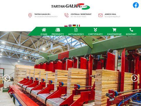 Tartakgalka.pl tarcica trocina zrębka