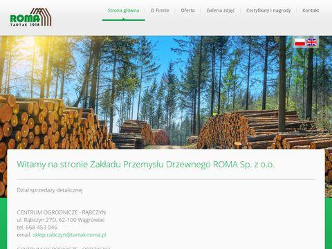 Zakład Roma zaprasza - Drewno budowlane