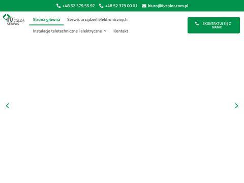 Tvcolor.com.pl serwis RTV Bydgoszcz