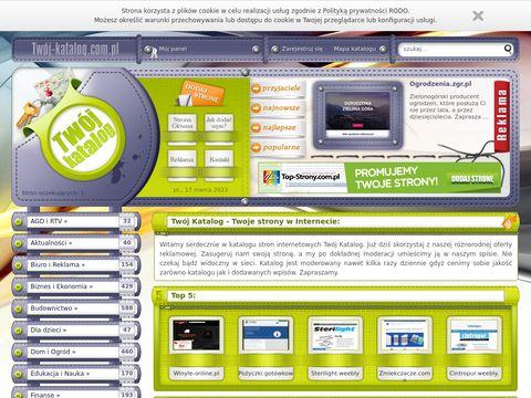 Twoj-katalog.com.pl Spis stron