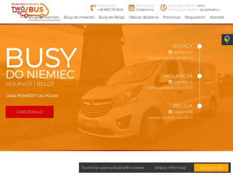 Twoj-bus.pl Holandia Bydgoszcz